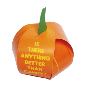 Pumpkin Treat Box Gospel Tracts