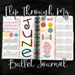 Flip Through My Bullet Journal