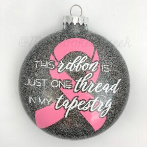 Custom Awareness Ribbon Ornament