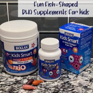 Kids Smart High DHA Fish Oil Chewable Burstlets