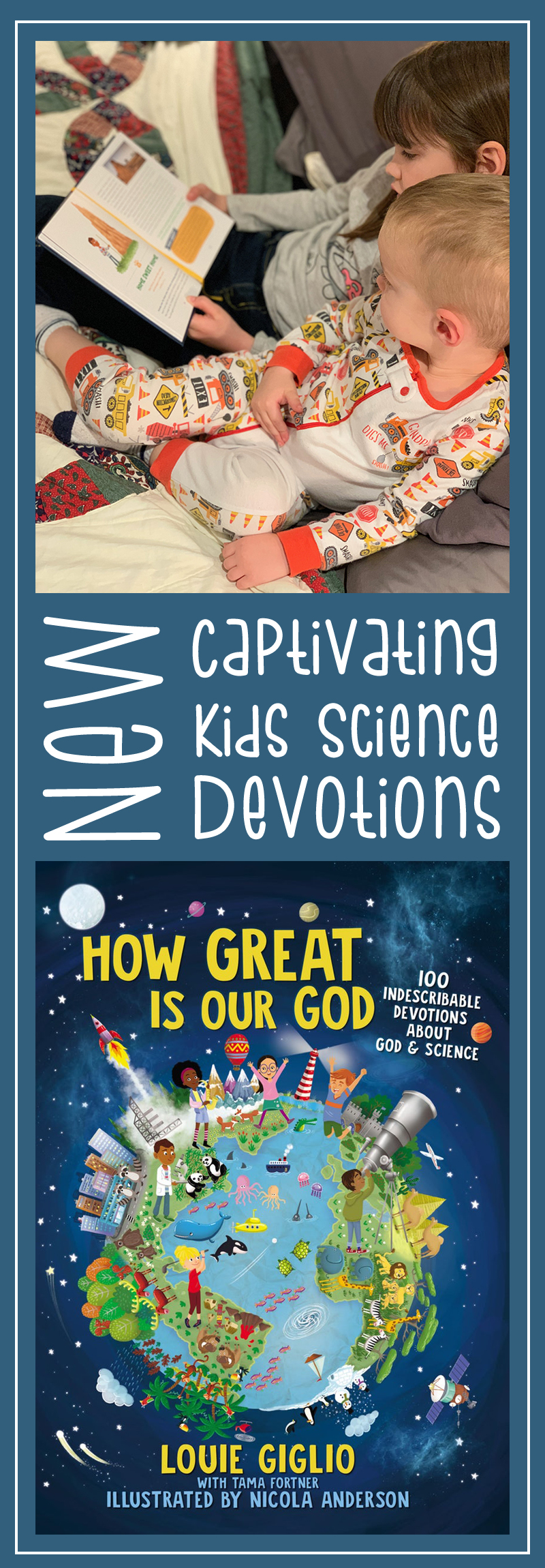 Kids Science Devotions by Louie Giglio
