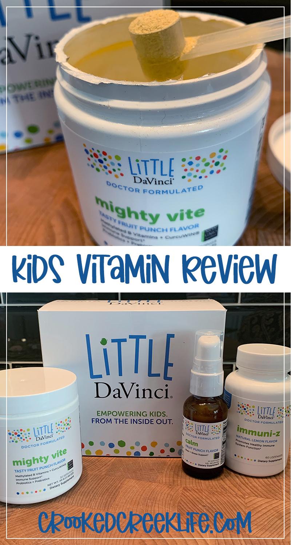 Little DaVinci mighty vite Kids Vitamin Review