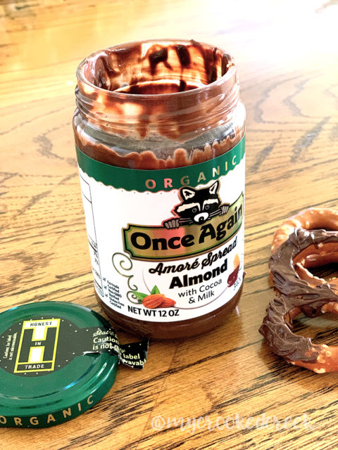 Once Again Organic Amore Almond Spread with Milk Chocolate - Crooked Creek Life