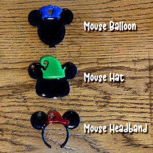 Custom Mouse Head w/ Hat
