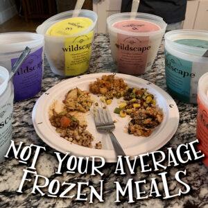 Wildscape – Not Your Average Frozen Meals!
