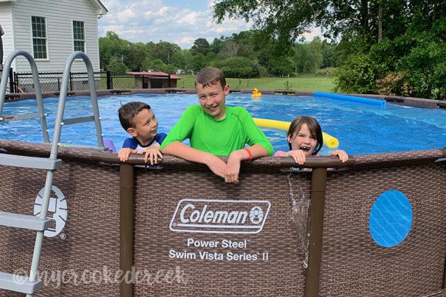 Swim Vista Series™ II Above-Ground Pool
