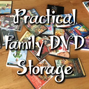 Practical Family DVD Storage