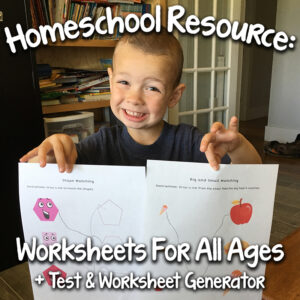 A Great Worksheet Resource & Test Generator