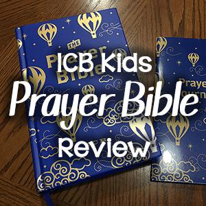 ICB Prayer Bible for Children