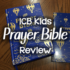 ICB Prayer Bible for Children
