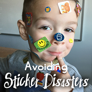 How to avoid sticker disasters