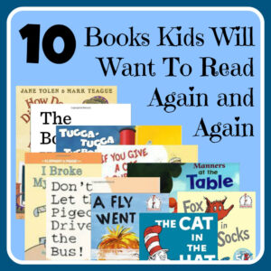 10 Kids Books to Read Again and Again